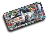 Koolart STICKERBOMB STYLE Design For Old Skool BMW 2002 Hard Case Cover Fits Apple iPhone 4 & 4s